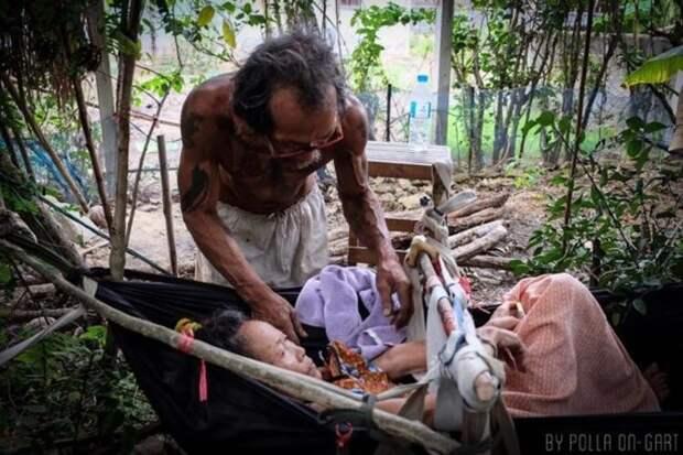 В тайской прессе эту историю преподносят как противопоставление современным нравам Любовь, в мире, люди, помощь, семья, таиланд