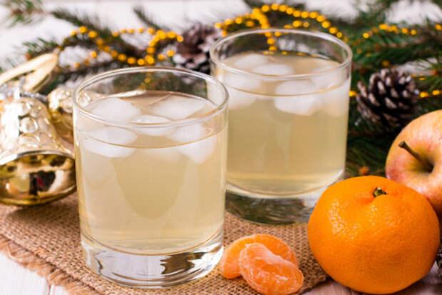 Лимонад из мандаринов с грейпфрутом