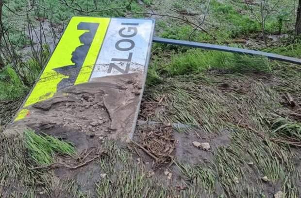 Село Березложи сильно пострадало от дождей (ФОТО)