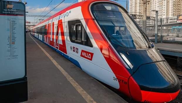 Около 5 млн литров раствора для обработки пригородных поездов использовали за месяц