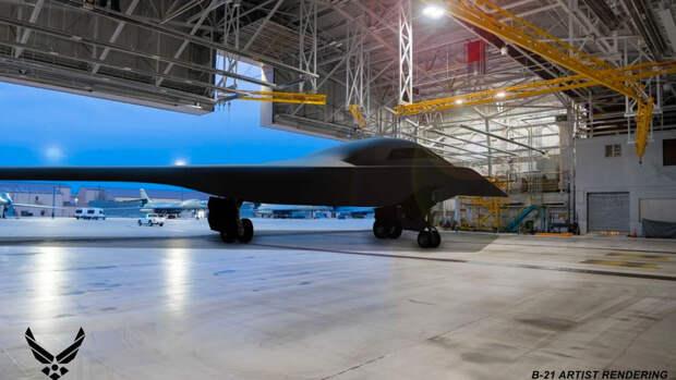 """В США заявили о создании бомбардировщика, который станет """"худшим кошмаром"""" для России"""