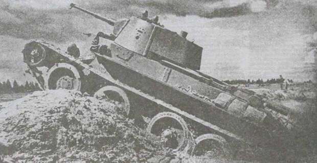 Рота танков БТ-7 учинила разгром фашистам. Горький урок для Гудериана