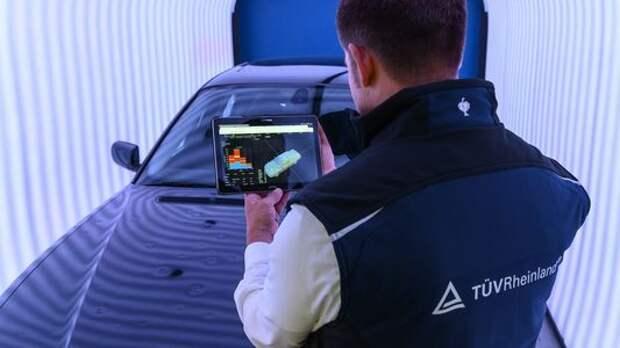 Новый прибор для оценки б/у машин: сканирование кузова за минуту