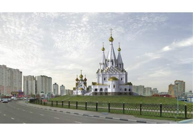 Первый в Москве храм памяти погибших военкоров возведут в Марьине