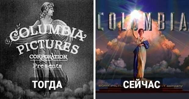 Как менялись заставки знаменитых кинокомпаний