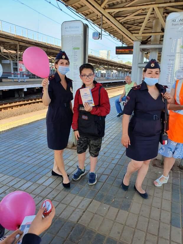 Несовершеннолетним рассказали о правилах поведения на железной дороге