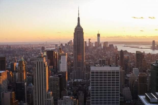 В Нью-Йорке идет шествие в честь Дня Победы