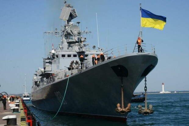 РФ заблокировала корабли ВМС Украины в портах Азовского моря