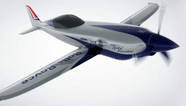 Rolls-Royce строит самый быстрый в мире электросамолет