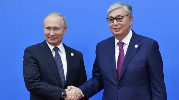 Путин обсудил с Токаевым борьбу с коронавирусом