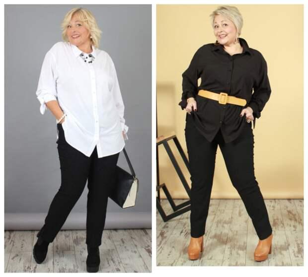 Фото 9, 10 - брюки и рубашка NadiN