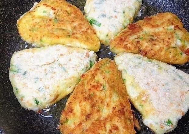 Вкуснейшие котлеты из картофеля и кабачков