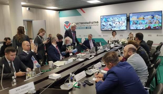 Профсоюзы участвуют в работе Общественного штаба по наблюдению за выборами в Москве