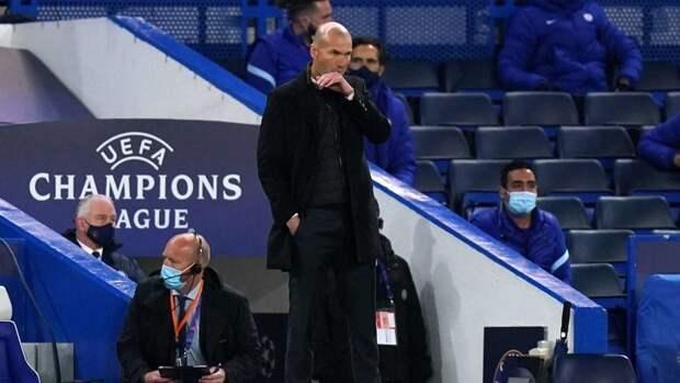 Зидан признал, что «Челси» заслуженно обыграл «Реал»