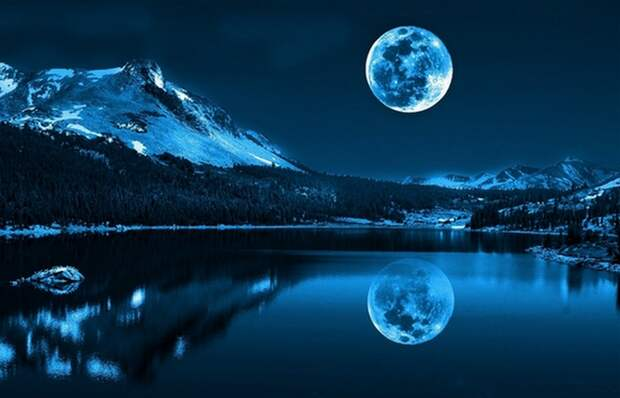 Небо, ночь, Луна...