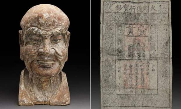 5 странных и необычных предметов, случайно найденных внутри древних статуй