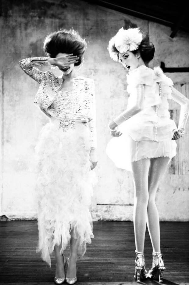 Прекрасные винтажные красотки отфотографа Эстер Хаас