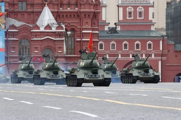 «Путин показывает российскую военную мощь»