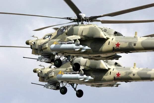 """Вертолеты """"Ночные охотники"""" научат борьбе с беспилотникам"""