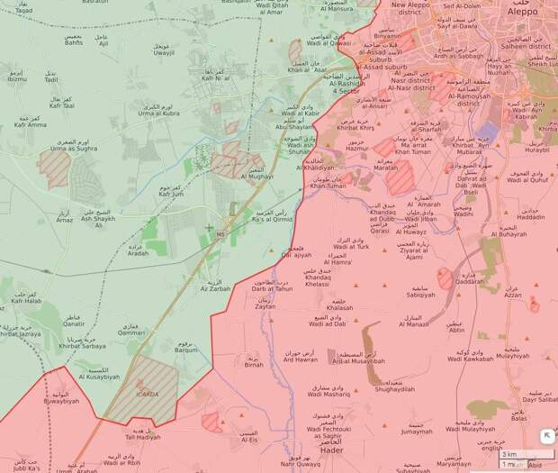 Боевики в Идлибе продолжают провоцировать САА