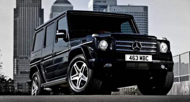 6) Mercedes-Benz G-Class авто, история, факты