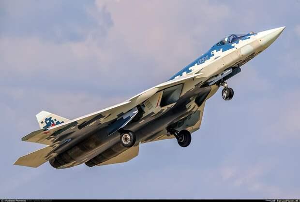«Уголовник» Су-57 против «маньяка» F-35