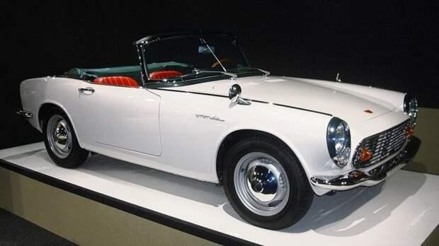 Один из первых авто Соитиро Хонды — модель S600 honda, suzuki, toyota, авто, автоистория, автомобили, япония, японские автомобили