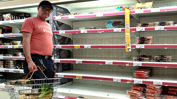 Британские учёные выяснили, что Путин съел все продукты в магазинах