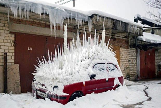 По мнению Novate.ru, машинка ощетинилась. | Фото: Karma Decay.
