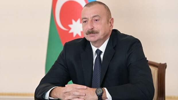 Алиев назвал необоснованным обращение Еревана в ОДКБ из-за ситуации на границе