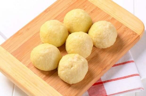 Картофельные галушки с овощами. Ленивый рецепт для занятых хозяек 5