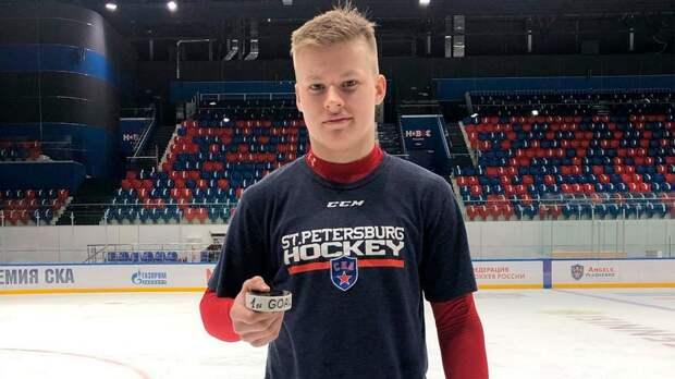 16-летний Мичков договорился со СКА о новом контракте, который рассчитан на 5 лет