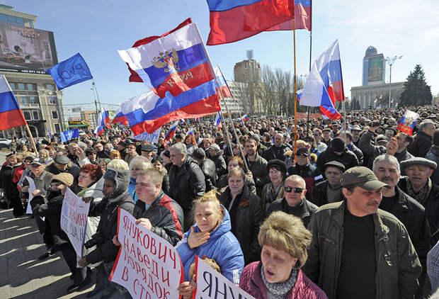 Государственники наступают. Донбасс - это Россия