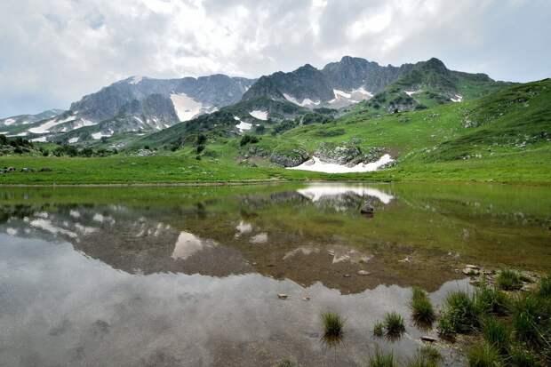 Гора Пшехасу, озеро Псенодах