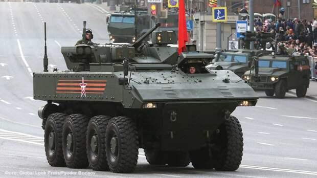 Каким может быть колесный танк на платформе «Бумеранг»?