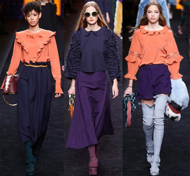 Fendi Женская мода 2016-2017