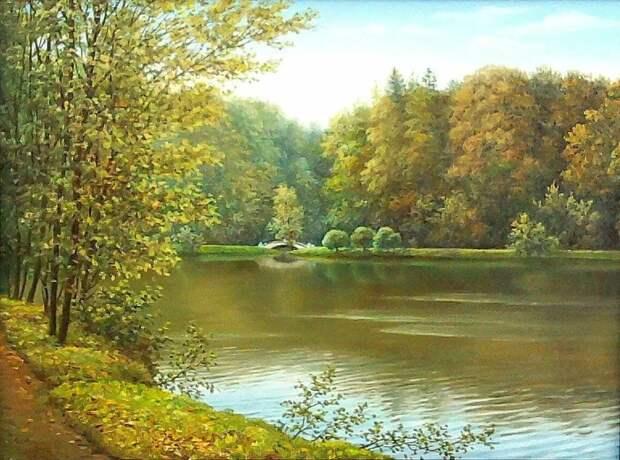 Картины русского художника-реалиста Владимира Княгницкого