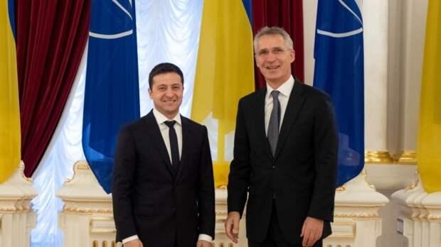 «Начали играть в КВН»: украинский депутат отчитал Зеленского за сладкие мечты о НАТО