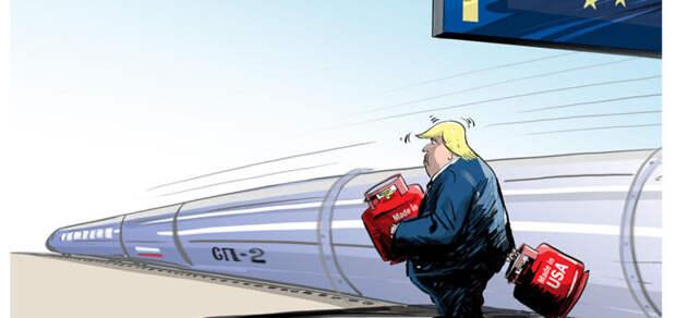 Европу замучали газы