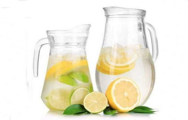Лимонная вода: лучший напиток для выведения токсинов.