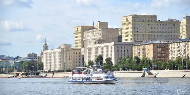 Москвичам снова стали доступны популярные речные маршруты