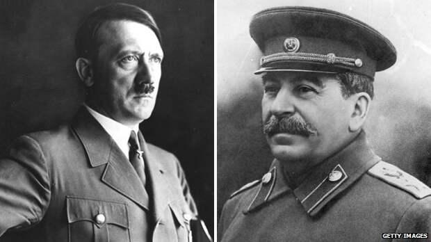 Чем Сталин отличается от Гитлера за 1 минуту