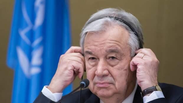 Генсек ООН объявил о грядущих переговорах с Путиным