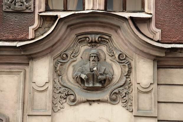 Доходный дом АО «Словолитня и производство медных линеек Г. Бертгольд»
