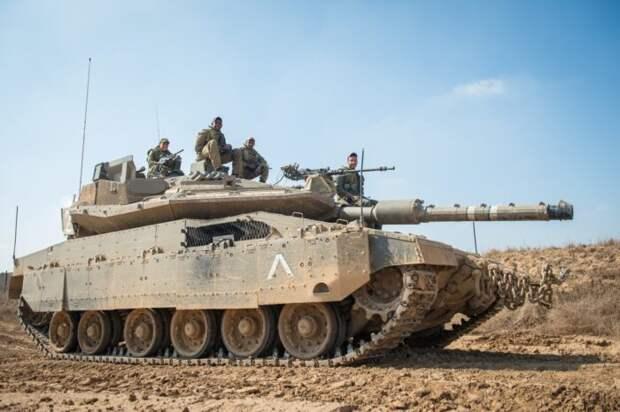 Арабы уничтожили секретный танк ВС Израиля Меркава методом генерала Ватутина