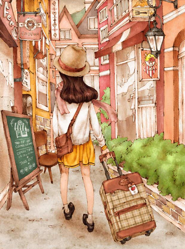 Путешествуя в одиночку
