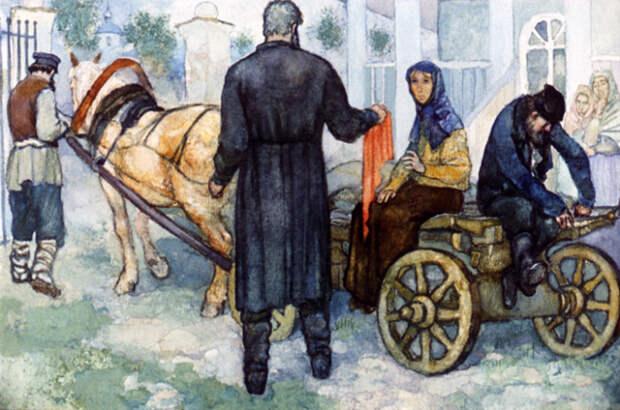 В своих произведениях Тургенев часто описывал униженное положение крепостных крестьян, например, в рассказе «Муму». /Фото: i1.wp.com