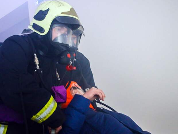 Мужчина сгорел в брошенном автобусе в Петербурге