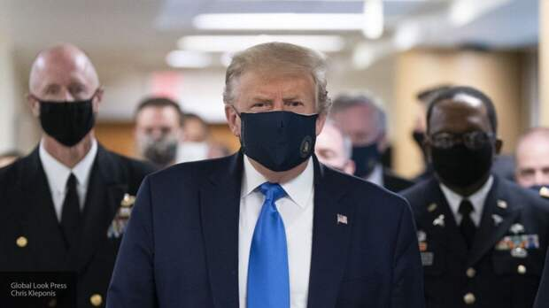 Трамп заявил, что он защищает американцев от хаоса