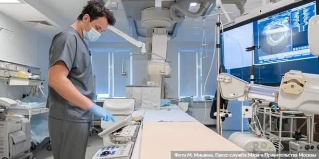 Собянин подвел итог переоснащения городских больниц и поликлиник последних десяти лет. Фото: М. Мишин mos.ru